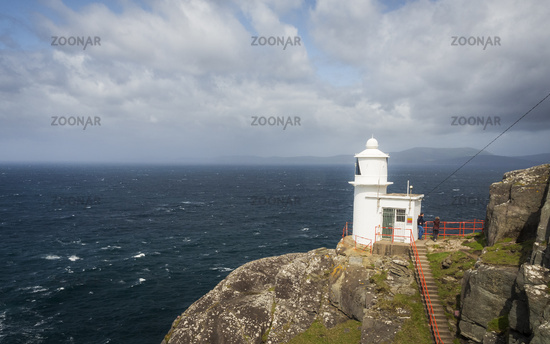 Sheeps Head Lighthouse in Ireland westcoast
