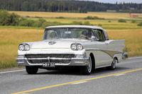 Ford Fairlane 500 Classic Car on Drive