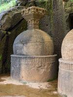 Group of Stupas at Bhaja Caves
