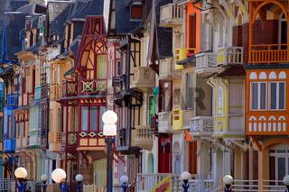 Jugendstil, Mers-les-Bains, Picardie, Frankreich