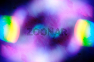 Abstract iridescent holographic neon background. Hologram vibrant style pattern. Backdrop pearl texture.