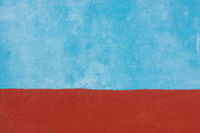 Blue and red wall texture