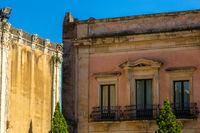 Sicilian baroque houses