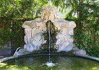 Brunnen mit Wasserspeier
