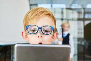 Kind als Programmierer oder Software Entwickler