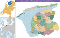 Friesland is a province of the Netherlands