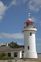 Leuchtturm Sletterhage, in der dänischen Aarhusbucht