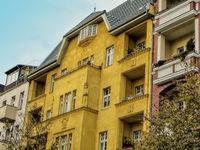 sanierte altbauten in berlin westend, germany
