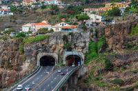 Madeira island typical landscape