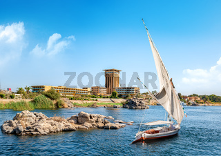 View of Aswan