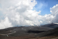 Mount Etna at the island Sicily, Italy