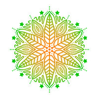 Mandala grün