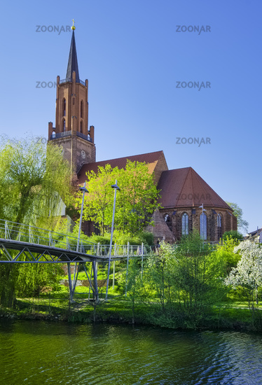 Stadtkirche St. Marien und Andreas, Rathenow, Brandenburg, Deutschland