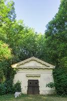 Mausoleum der Familie Petitjean, Werneuchen, Brandenburg, Deutschland