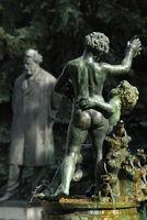 Springbrunnen in Prag, Tschechische Republik
