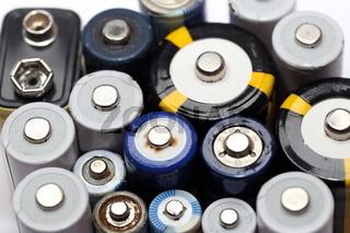 alte Batterien zum recyclen