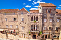 UNESCO Town of Trogir historic architecture view