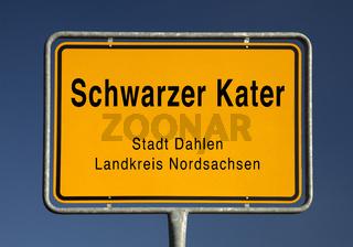 Ortsschild Schwarzer Kater.tif