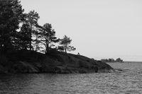 Landscape in Vita Sannar, Dalsland. Sweden.