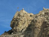 Medieval fort in Alicante, Spain.