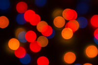 image of Abstract blurred bokeh background