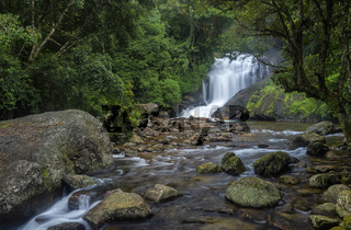 Lakkom waterfall, Idukki district of Kerala, India