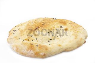 Fladenbrot (Pita Brot) freigestellt