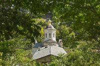 Bakhchisarai, Crimea. Holy Assumption Monastery in the cave