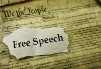 Freedom of Speech Constitutional right