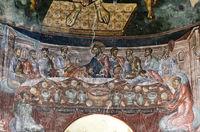 Das Abendmahl, St. Georg Kloster, Ubisa, Imeretien, Georgien
