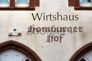 Wirtshaus Homburger Hof