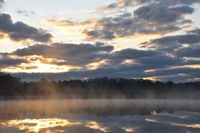 Sonnenaufgang am Latzigsee