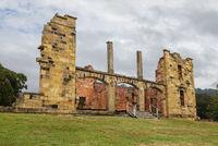 Ruins of  old  jail hospital at Port Arthur