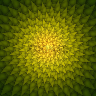 green yellow stars abstract background