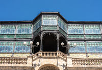 Exterior of the museum of Art Nouveau and Art Deco in Salamanca