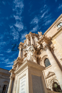 Cathedral of Syracuse in Sicily, Italy