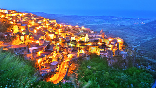 The village of Staiti in the Province of Reggio Calabria, Italy