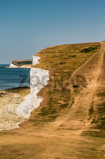 Walkers on the Seven Sisters
