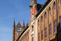 Rathaus, Stralsund, Deutschland, City hall, Stralsund, Germany