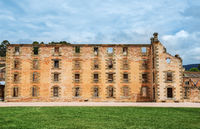 The penitentiary building at Port Arthur in Tasmania, Australia