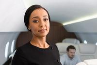 Business jet travel.