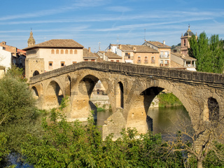 Bridge over the Arga River - Puente La Reina