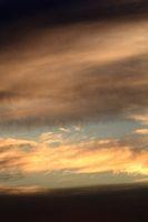 Cloudy sky in rainy season. Nature concept