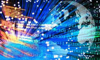 Weltweite digitale Kommunikation