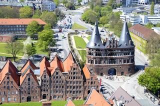 Lübeck von oben