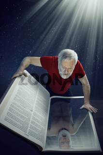 Looking into the Holy Bible, you see yourself as you really are