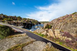 Brücke zwischen den Inseln Orust und Malön in Schweden