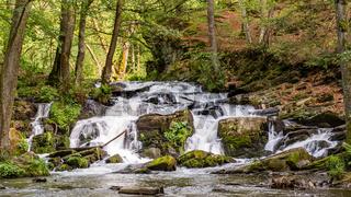 Selkewasserfall im Harz