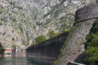 Fortress in old town Kotor, Montenegro