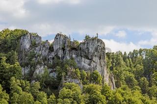 Felsen im Donautal bei Beuron
